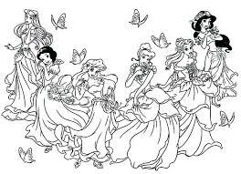 Princesse Coloriages Gratuit Imprimable A Coloriage Princesse Aurore