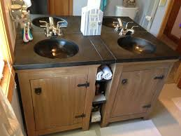 Used Double Vanity For Sale Two Single Vanities Were Used To Give The Owners A Double Vanity