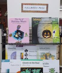 halloween city logan ut the book table blog u2013 your family u0027s store for books sheet music
