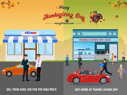 is it wise to sell your used car on thanksgiving