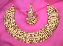 new gold set gold necklace set in defence colony new delhi manufacturer