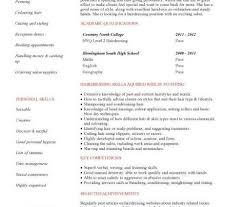 Hairdresser Resume Examples by Student Resume Targeted At A Hairdresser Vacancy More Hair Stylist