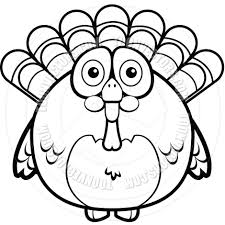 thanksgiving dinner cartoon pics cartoon turkey black and white line art by cory thoman toon