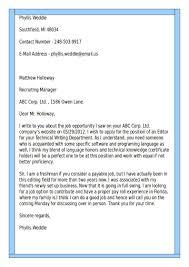 A Proper Cover Letter Best Cover Letter Cv