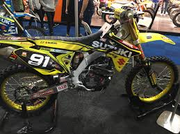 suzuki motocross bike international dirt bike show 2016 bemoto