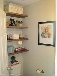 bathroom shelf ideas 25 great diy shelving ideas remodelaholic