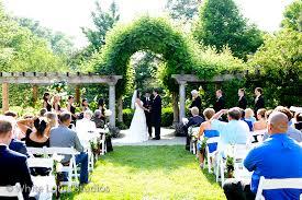 outdoor wedding venues cincinnati ault park garden wedding ceremony venue aviva events