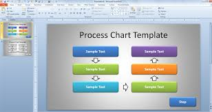 Process Map Template Powerpoint free simple process chart template for powerpoint presentations