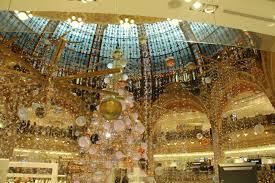 Christmas Decorations Shop Birmingham by Christmas Decorations At Galeries Lafayette In Paris