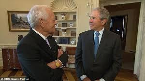 biography george washington bush george w bush shocked saddam hussein didn t believe he would invade