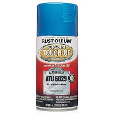 rust oleum stops rust 12 oz gloss maui blue protective enamel