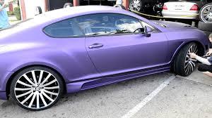 bentley purple c2c purple wrap bently youtube