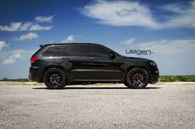 jeep srt modified black jeep srt8 on velgen wheels vmb5 jeep garage jeep forum