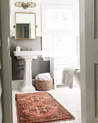 Rug In Bathroom Rug In Bathroom Home Design Ideas And Pictures