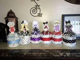 baby disney villains diaper cake mini disney baby villains