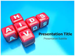 hiv aids powerpoint ppt template powerpoint slides template 5571