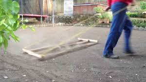 diy how to level your ground for seed or sod lawn installation