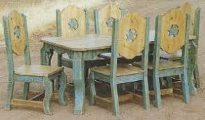 Western Style Dining Room Sets Furniture Arizona Territorial Style