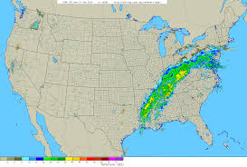 United States Weather Map Radar by Storm Summary Of Heavy Rain In January 22 23 2006