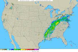 Weather Map Radar Storm Summary Of Heavy Rain In January 22 23 2006