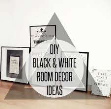 Home Decor Diys Classy 70 Black And White Room Decor Diy Inspiration Design Of 43