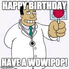 Doctor Who Birthday Meme - simpsons doctor imgflip
