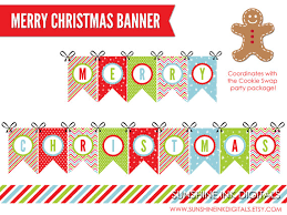 similar printable merry christmas banner christmas
