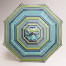 Design For Striped Patio Umbrella Ideas Cote Blue Striped 9ft Umbrella Canopy Best Canopy Ideas
