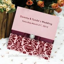 Best Indian Wedding Invitations 2014 Royal Indian Wedding Invitation Cards With Ribbon And Pearl