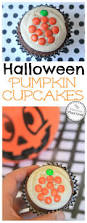 easy halloween pumpkin cupcakes for kids planning playtime