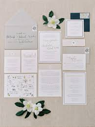 Wedding Invitation Suite Southern Wedding Invitations