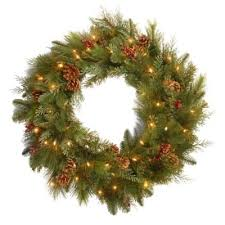 buy battery operated wreaths from bed bath beyond