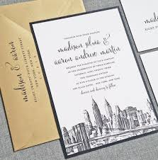 wedding invitations chicago new york skyline wedding invitation sle boston