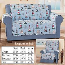 Nautical Sofa Nautical Lighthouse Furniture Cover Protector From Collections Etc