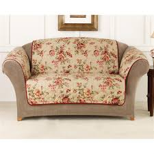 Cotton Sofa Slipcovers by Sure Fit Lexington Floral Sofa Pet Cover 292857 Furniture