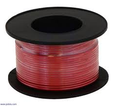 pololu stranded wire red 28 awg 90 feet