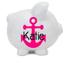 Personalized Silver Piggy Bank 47 Best Piggy Banks Images On Pinterest Piggy Banks