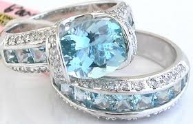 aquamarine wedding aquamarine wedding rings the wedding specialiststhe wedding