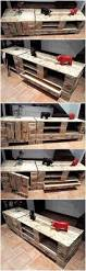 creative tv stand ideas with used pallets pallet ideas
