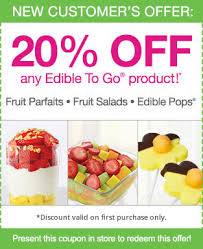 edible fruits coupons special offers and promotions the at burlington creek