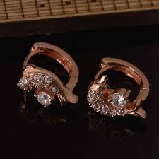 children s hoop earrings aliexpress buy dolphin shaped animal gold filled