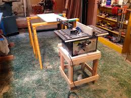 wood table saw stand the unlikely boat builder taming the tablesaw