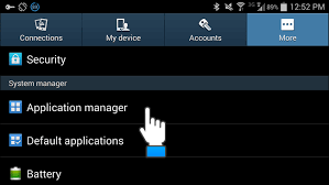 application manager android how to stop a running app on an android device