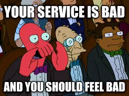 Comcast Meme - livememe com zoidberg disapproves