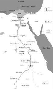 Nile River On Map Map Of The Nile For The Odyssey Of Isis S L Gore