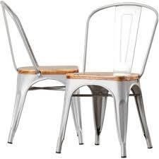 Galvanized Bistro Chair Metal Kitchen U0026 Dining Chairs You U0027ll Love Wayfair