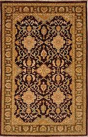 Brown And Beige Area Rug Chobi Handknotted Area Rugs At Rugman Free Shipping