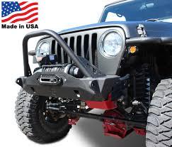 jeep yj winch mauler stubby front winch bumper tj yj cj7 wrangler cj 7