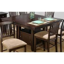 counter height dining table butterfly leaf jofran counter height dining table w butterfly leaf storage base
