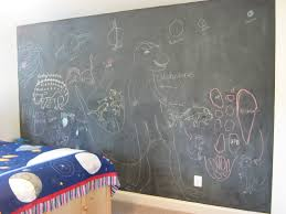 fake it frugal space themed boy s room fake wall mural ok but here s the added benefit of having a chalk board wall instead of one themed mural we can change it at any time as you may have already noticed